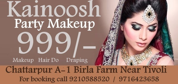 Party Makeup artist in Chattarpur