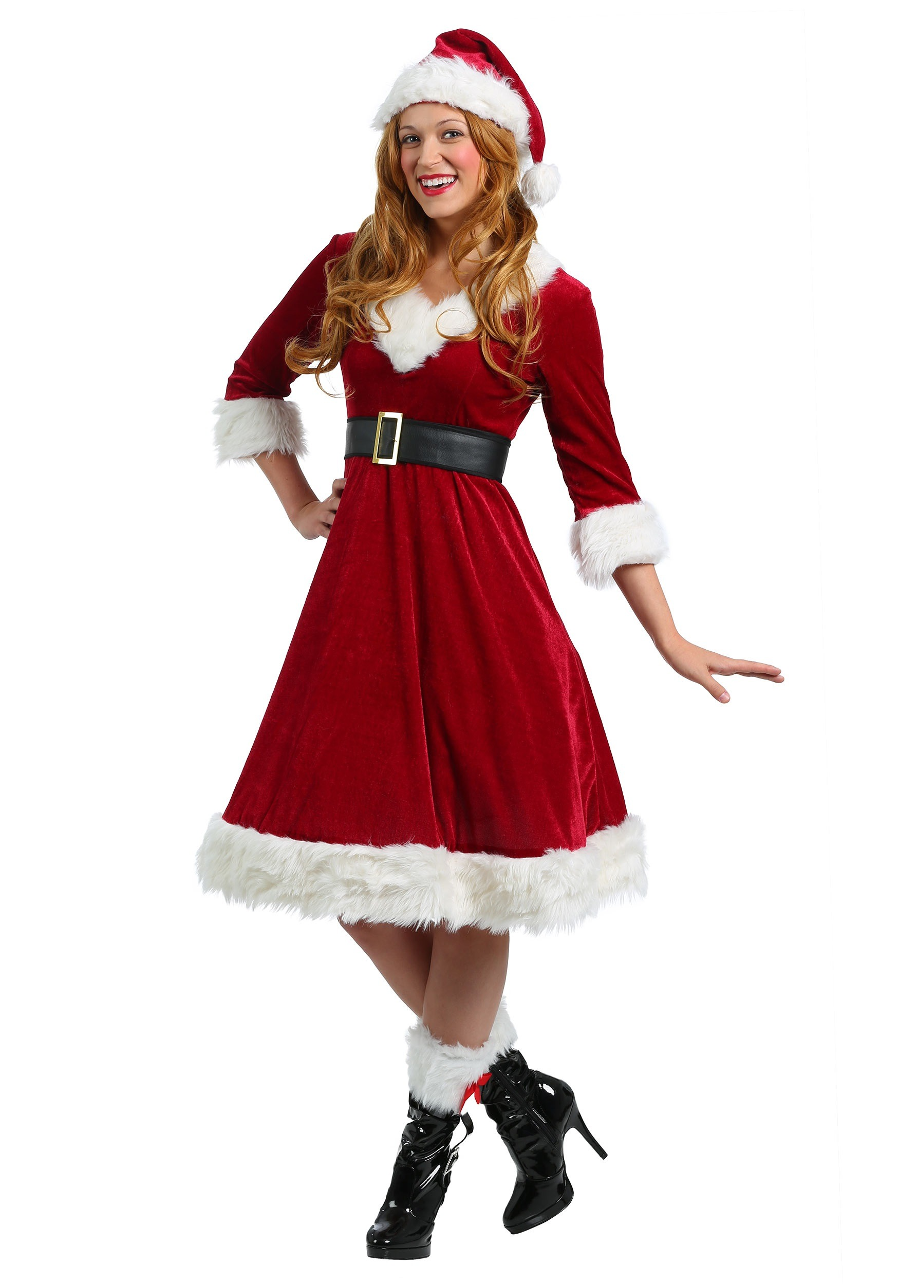 WOMENS SANTA CLAUS SWEETIE COSTUME ON RENT IN CHATTARPUR