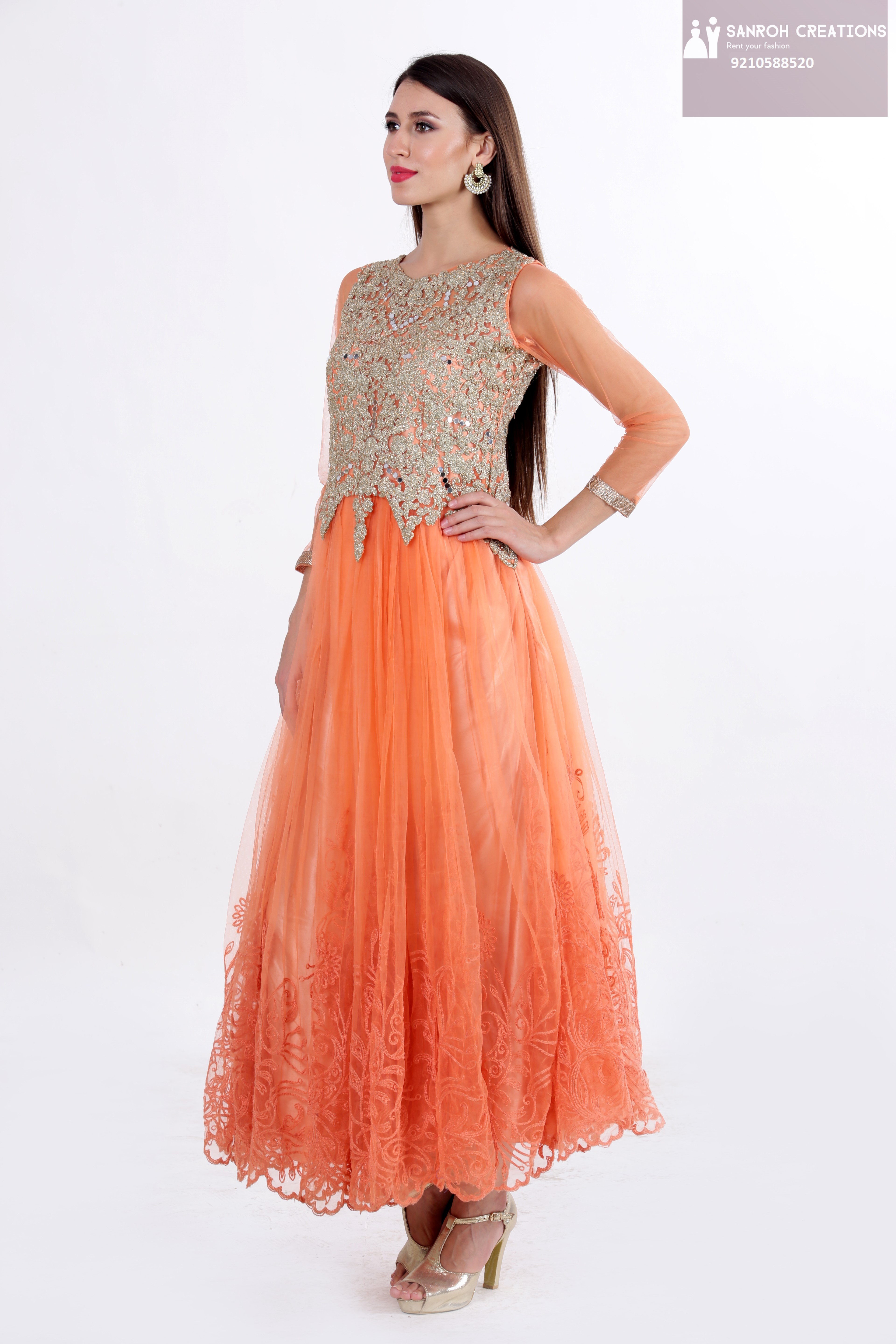 GOWNS ON RENT IN CHATTARPUR