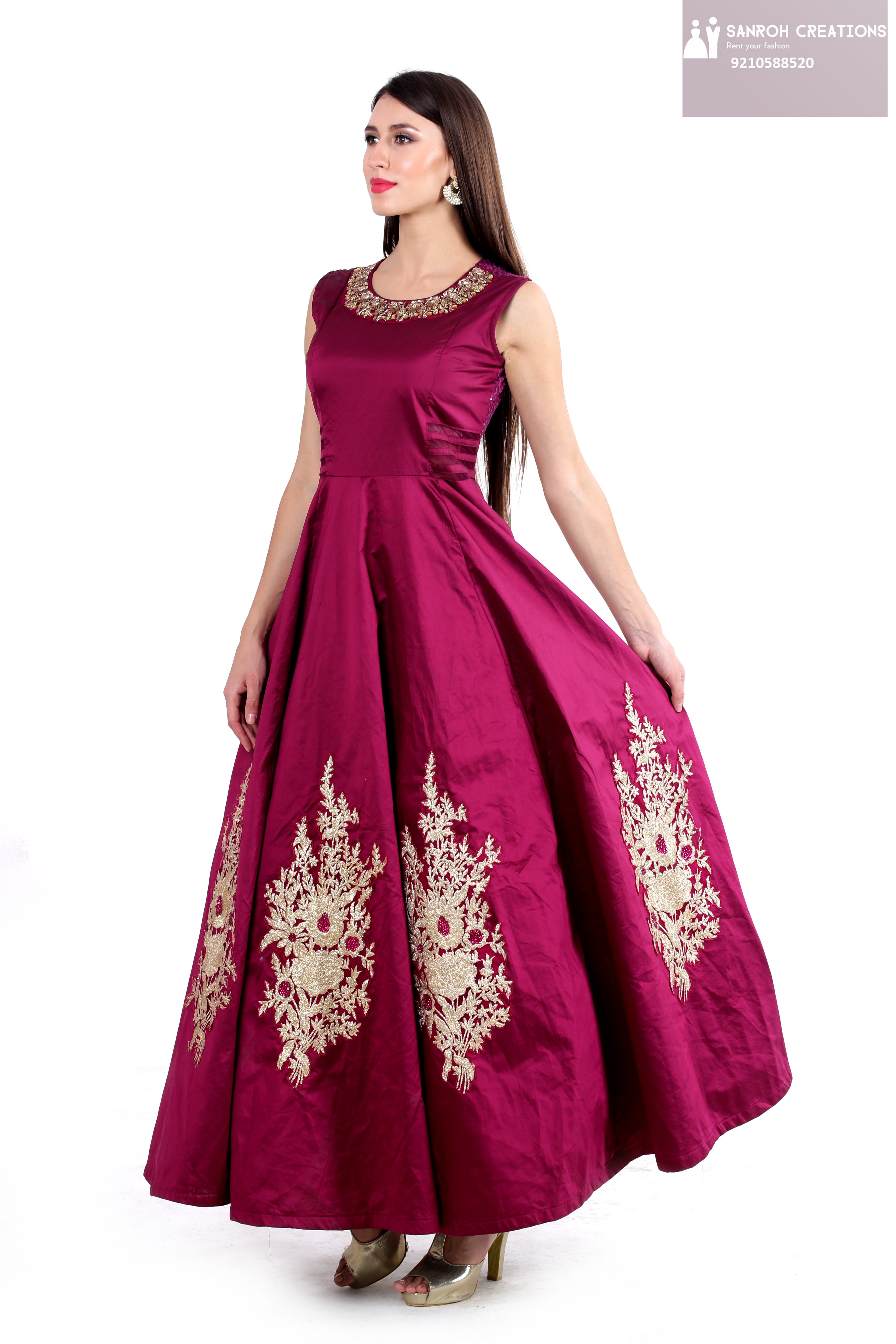 party wear dresses for girl on rent in Gurgaon sector 50