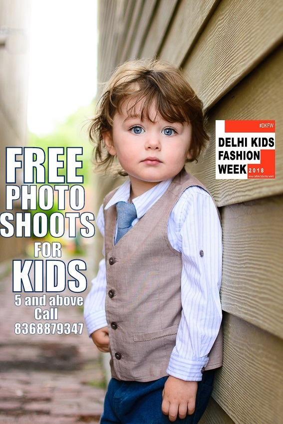 kids studio photoshoot for free in Indralok