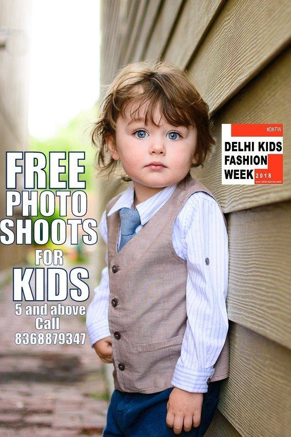 Free kids photoshoot in Indralok