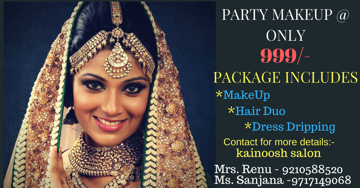 Best Party Makeup in Chattarpur